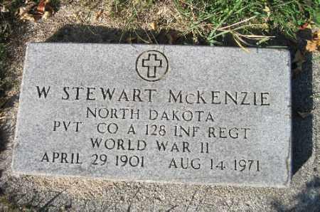 MCKENZIE, W. STEWART - Traill County, North Dakota | W. STEWART MCKENZIE - North Dakota Gravestone Photos