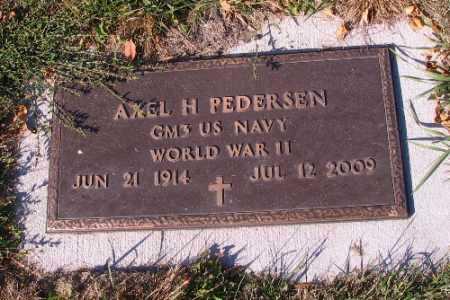 PEDERSEN, AXEL - Traill County, North Dakota | AXEL PEDERSEN - North Dakota Gravestone Photos