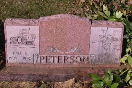 PETERSON, DALE C. - Traill County, North Dakota | DALE C. PETERSON - North Dakota Gravestone Photos