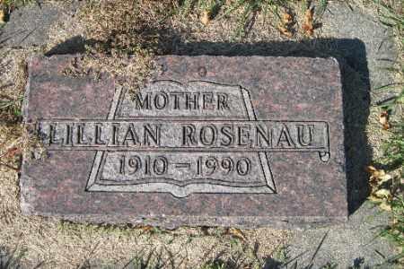ROSENAU, LILLIAN - Traill County, North Dakota | LILLIAN ROSENAU - North Dakota Gravestone Photos