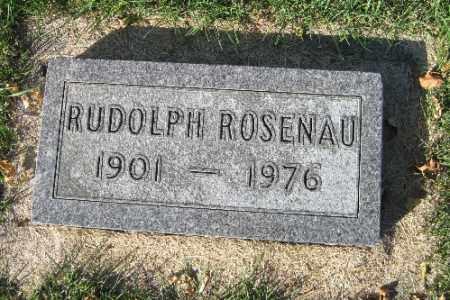 ROSENAU, RUDOLPH - Traill County, North Dakota   RUDOLPH ROSENAU - North Dakota Gravestone Photos