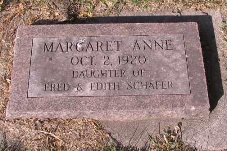 SCHAFER, MARGARET ANNE - Traill County, North Dakota | MARGARET ANNE SCHAFER - North Dakota Gravestone Photos