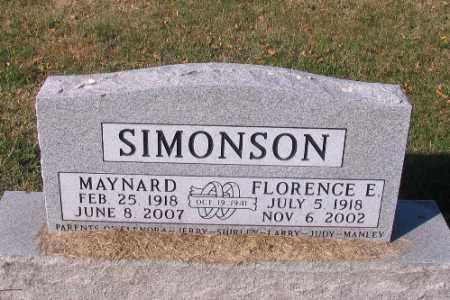SIMONSON, MAYNARD - Traill County, North Dakota | MAYNARD SIMONSON - North Dakota Gravestone Photos
