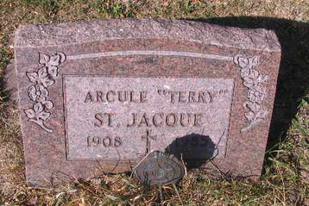 """ST JACQUE, ARCULE  """"TERRY"""" - Traill County, North Dakota 