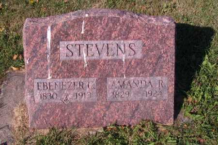 STEVENS, EBENEZER C. - Traill County, North Dakota | EBENEZER C. STEVENS - North Dakota Gravestone Photos