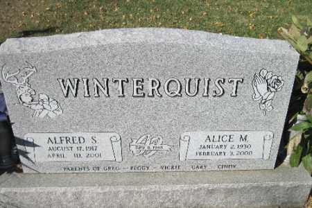 WINTERQUIST, ALICE M. - Traill County, North Dakota | ALICE M. WINTERQUIST - North Dakota Gravestone Photos