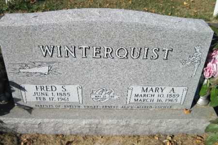 WINTERQUIST, FRED S. - Traill County, North Dakota | FRED S. WINTERQUIST - North Dakota Gravestone Photos