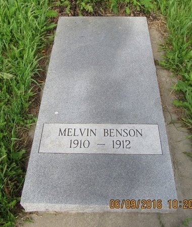 BENSON, MELVIN - Ward County, North Dakota | MELVIN BENSON - North Dakota Gravestone Photos