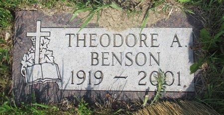 BENSON, THEODORE A. - Ward County, North Dakota   THEODORE A. BENSON - North Dakota Gravestone Photos