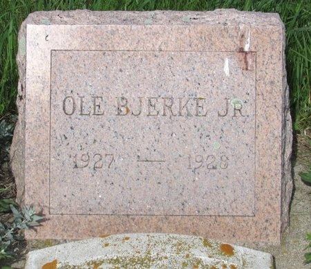 BJERKE, OLE - Ward County, North Dakota | OLE BJERKE - North Dakota Gravestone Photos