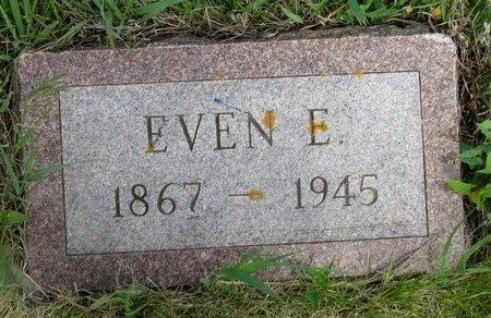MIKKELSON, EVEN E. - Ward County, North Dakota | EVEN E. MIKKELSON - North Dakota Gravestone Photos