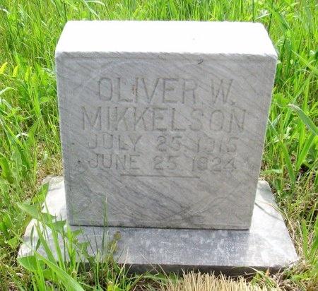 MIKKELSON, OLIVER W. - Ward County, North Dakota | OLIVER W. MIKKELSON - North Dakota Gravestone Photos
