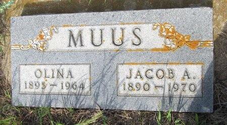 MUUS, JACOB A. - Ward County, North Dakota | JACOB A. MUUS - North Dakota Gravestone Photos