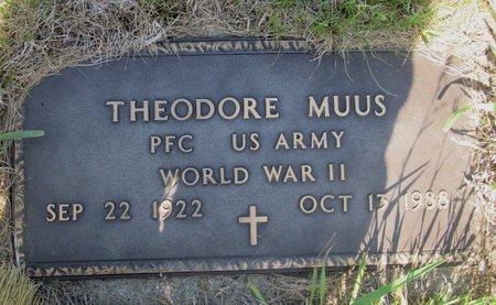 MUUS, THEODORE - Ward County, North Dakota | THEODORE MUUS - North Dakota Gravestone Photos