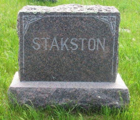 STAKSTON, FAMILY MARKER - Ward County, North Dakota   FAMILY MARKER STAKSTON - North Dakota Gravestone Photos