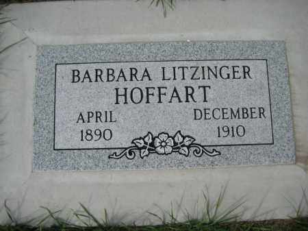 HOFFART, BARBARA - Wells County, North Dakota | BARBARA HOFFART - North Dakota Gravestone Photos
