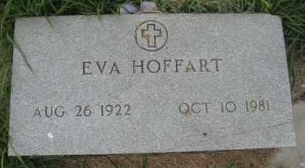 HOFFART, EVA - Wells County, North Dakota   EVA HOFFART - North Dakota Gravestone Photos