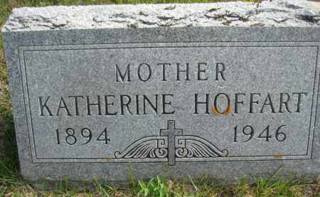 HOFFART, KATHERINE - Wells County, North Dakota   KATHERINE HOFFART - North Dakota Gravestone Photos