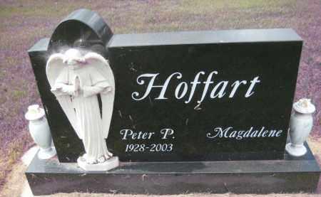 HOFFART, PETER P - Wells County, North Dakota | PETER P HOFFART - North Dakota Gravestone Photos