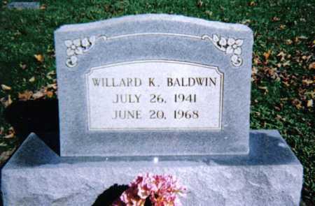 BALDWIN, WILLARD K. - Adams County, Ohio   WILLARD K. BALDWIN - Ohio Gravestone Photos