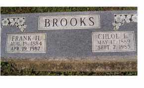 BROOKS, CHLOE E. - Adams County, Ohio | CHLOE E. BROOKS - Ohio Gravestone Photos