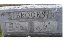 BROOKS, WILLIAM  J. - Adams County, Ohio | WILLIAM  J. BROOKS - Ohio Gravestone Photos