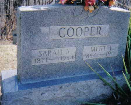 COOPER, MERT L. - Adams County, Ohio   MERT L. COOPER - Ohio Gravestone Photos