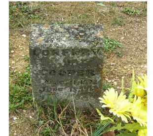 COOPER, UNKNOWN - Adams County, Ohio | UNKNOWN COOPER - Ohio Gravestone Photos