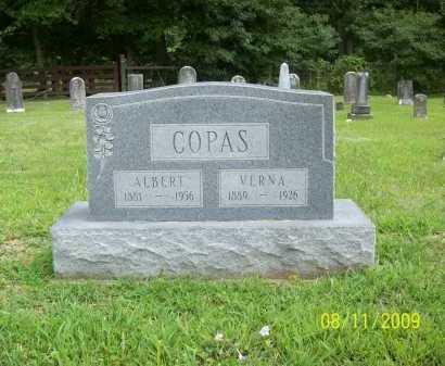 COPAS, ALBERT - Adams County, Ohio   ALBERT COPAS - Ohio Gravestone Photos