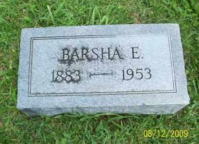 COPAS, BARSHA E - Adams County, Ohio | BARSHA E COPAS - Ohio Gravestone Photos