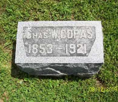 COPAS, CHARLES W - Adams County, Ohio | CHARLES W COPAS - Ohio Gravestone Photos