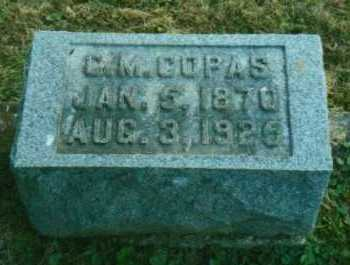 COPAS, CLEMENT MAURICE - Adams County, Ohio | CLEMENT MAURICE COPAS - Ohio Gravestone Photos