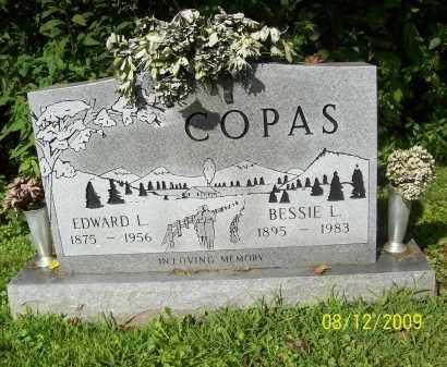 COPAS, BESSIE L - Adams County, Ohio | BESSIE L COPAS - Ohio Gravestone Photos