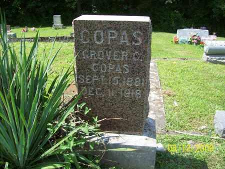 COPAS, GROVER C - Adams County, Ohio   GROVER C COPAS - Ohio Gravestone Photos