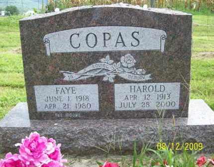 COPAS, FAYE - Adams County, Ohio | FAYE COPAS - Ohio Gravestone Photos