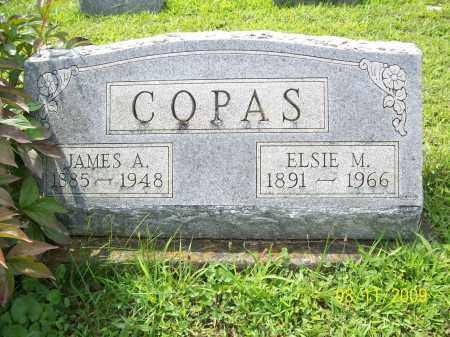 COPAS, JAMES A - Adams County, Ohio | JAMES A COPAS - Ohio Gravestone Photos