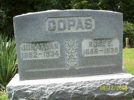 COPAS, JONATHAN - Adams County, Ohio | JONATHAN COPAS - Ohio Gravestone Photos
