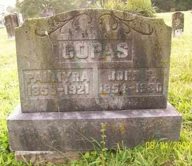 COPAS, JOHN F - Adams County, Ohio | JOHN F COPAS - Ohio Gravestone Photos