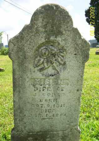 COPAS, KISIAH - Adams County, Ohio | KISIAH COPAS - Ohio Gravestone Photos