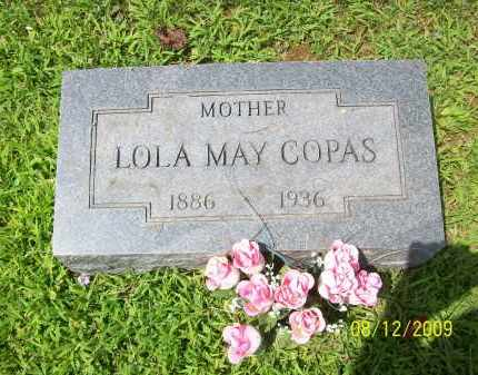 COPAS, LOLA MAY - Adams County, Ohio | LOLA MAY COPAS - Ohio Gravestone Photos