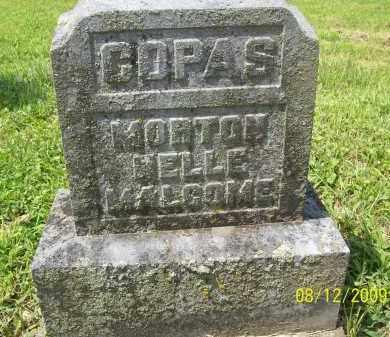 COPAS, MORTON - Adams County, Ohio | MORTON COPAS - Ohio Gravestone Photos