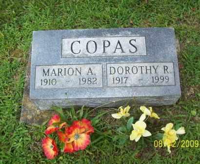 COPAS, MARION A - Adams County, Ohio | MARION A COPAS - Ohio Gravestone Photos