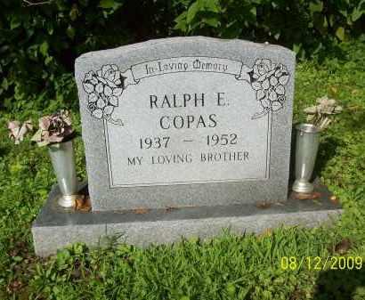 COPAS, RALPH E - Adams County, Ohio | RALPH E COPAS - Ohio Gravestone Photos