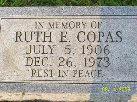 COPAS, RUTH E - Adams County, Ohio   RUTH E COPAS - Ohio Gravestone Photos