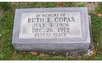 COPAS, RUTH E. - Adams County, Ohio   RUTH E. COPAS - Ohio Gravestone Photos