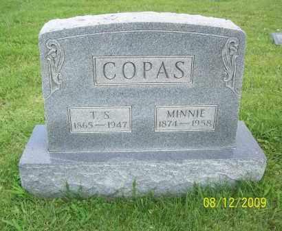 COPAS, MINNIE - Adams County, Ohio | MINNIE COPAS - Ohio Gravestone Photos