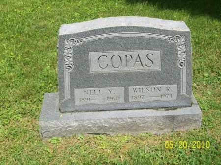 COPAS, NELL Y - Adams County, Ohio | NELL Y COPAS - Ohio Gravestone Photos