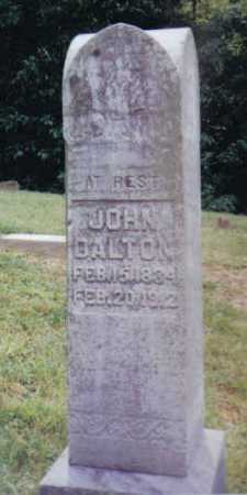 DALTON, JOHN - Adams County, Ohio | JOHN DALTON - Ohio Gravestone Photos