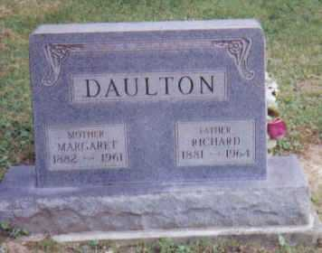 DAULTON, RICHARD - Adams County, Ohio | RICHARD DAULTON - Ohio Gravestone Photos