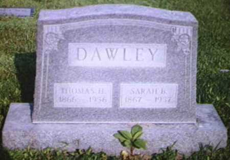 KRESS DAWLEY, SARAH BELLE - Adams County, Ohio | SARAH BELLE KRESS DAWLEY - Ohio Gravestone Photos